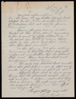 Letter : E. C. Reed to an unknown individual