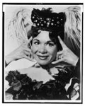 """[Katherine Dunham, head-and-shoulders portrait, facing front, in costume for dance revue """"Bamboche""""]"""