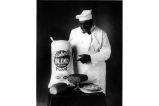 Advertising photo for Fisher's Blend Flour, Seattle, 1915