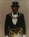 Man in Masonic Lodge Wear