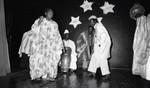 African Dancers performing, Los Angeles, 1982