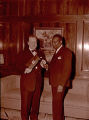 Z. Alexander Looby with Mayor Ben West, 1955 February
