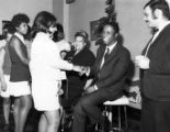 Appling, William 1970 with Dr. Zelma George