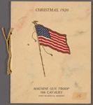 Christmas, 1920, Machine Gun Troop