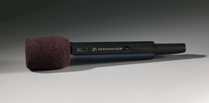 Black wireless microphone used on The Oprah Winfrey Show