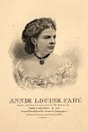 Portrait of Annie Louise Cary