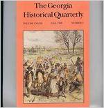 Georgia historical quarterly, 1998