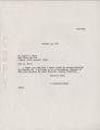 Letter, February 24, 1971, I. D. Newman to Robert H. White