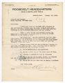 A. W. Abele letter to Leonard Wood League, January 16, 1920