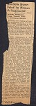 About Charlotte Hawkins Brown by others. Clippings, 1925-1961, n.d.