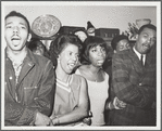 Singing in small group with Lorraine Hansberry and Nina Simone