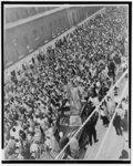 [Street rally in New York City, October 11, 1955 in protest of slaying of Emmett Till]