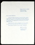 Lott (COGIC), letter, 1963, to Williams
