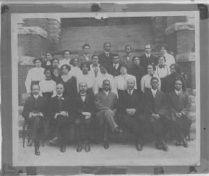 Photgraph of the Morris Brown College Faculty, Atlanta, Georgia, circa 1920-1925
