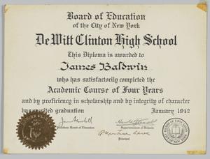 DeWitt Clinton High School Diploma