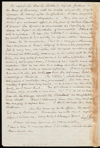 Letter from Samuel May, Leicester, [Mass.], to Richard Davis Webb, Mar. 22 / 72