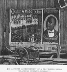 A poster advertisement of a travelling Negro Theatrical Company, Mississippi