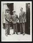 [Roy Wilkins, Walter White, and Thurgood Marshall, all posed full-length, standing, facing front]