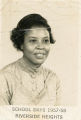 Riverside High School, Geneva, Alabama, teacher Martha Martin Stallworth, 1957-1958