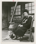 Ethel Waters, seated, in the stage production Member of the Wedding