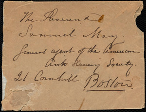 Letter from Maria Weston Chapman, Weymouth, [Mass.], to Samuel May, March 17, [1857?]
