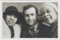 Bentley, Gladys, and Nora Douglas Holt and Prentiss Taylor at Harlem, New York City