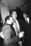 Bill Cosby and Quincy Jones, Los Angeles, 1982