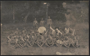[Unidentified African American regimental band]