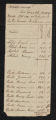Tax Lists, Camden County, 1791-1815