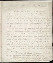 Letter to] Dear Sir [manuscript