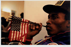 Steve McCrory, Boxer, Pan-American Games, Caracas, Venezuela, from the series Shooting for the Gold