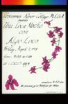 Una Loca Noche, Announcement Poster for