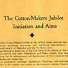 Souvenir program, Cotton Makers Jubilee, inside cover