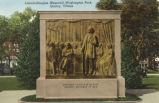 Lincoln-Douglas Memorial, Washington Park, Quincy, Illinois