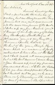Incomplete letter to] Dear Deborah [manuscript