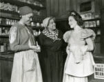 """Ethel Waters in """"Mamba's Daughters"""" with actresses Georgia Burke and Fredi Washington"""