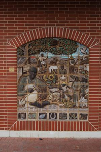 Fort Worth's first African American business man, John Pratt artwork