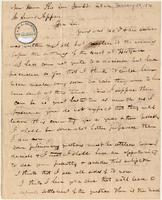 Letter from Benjamin Griswold to Lewis Tappan
