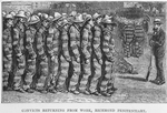 Convicts returning from work, Richmond penitentiary