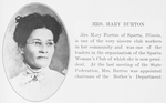 Mrs. Mary Burton
