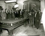 Billiards at the Pyramid Club