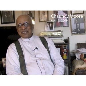 Video recording of interview with Reverend Chauncy Moore, April 3, 2009. part 1
