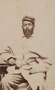 Unidentified black soldier