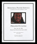 Philando D. Castile memorial prayer service program