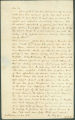 Letter from B. F. Porter to James Dellet in Claiborne, Alabama.