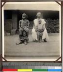 Christian family at Shendam Mission, Nigeria, 1923