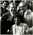 Frances and Benjamin with Howard Baker