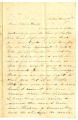 Correspondence from Beck Wallace to Samuel R. Latta, June 7, 1861