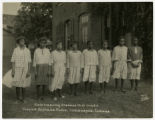 Girls at the Colored Orphans Home