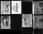 Set of negatives by Clinton Wright including Mrs. Samantha Gardner's children, Daisy's children, Reverend Walker, and Boyson Morgan, 1964